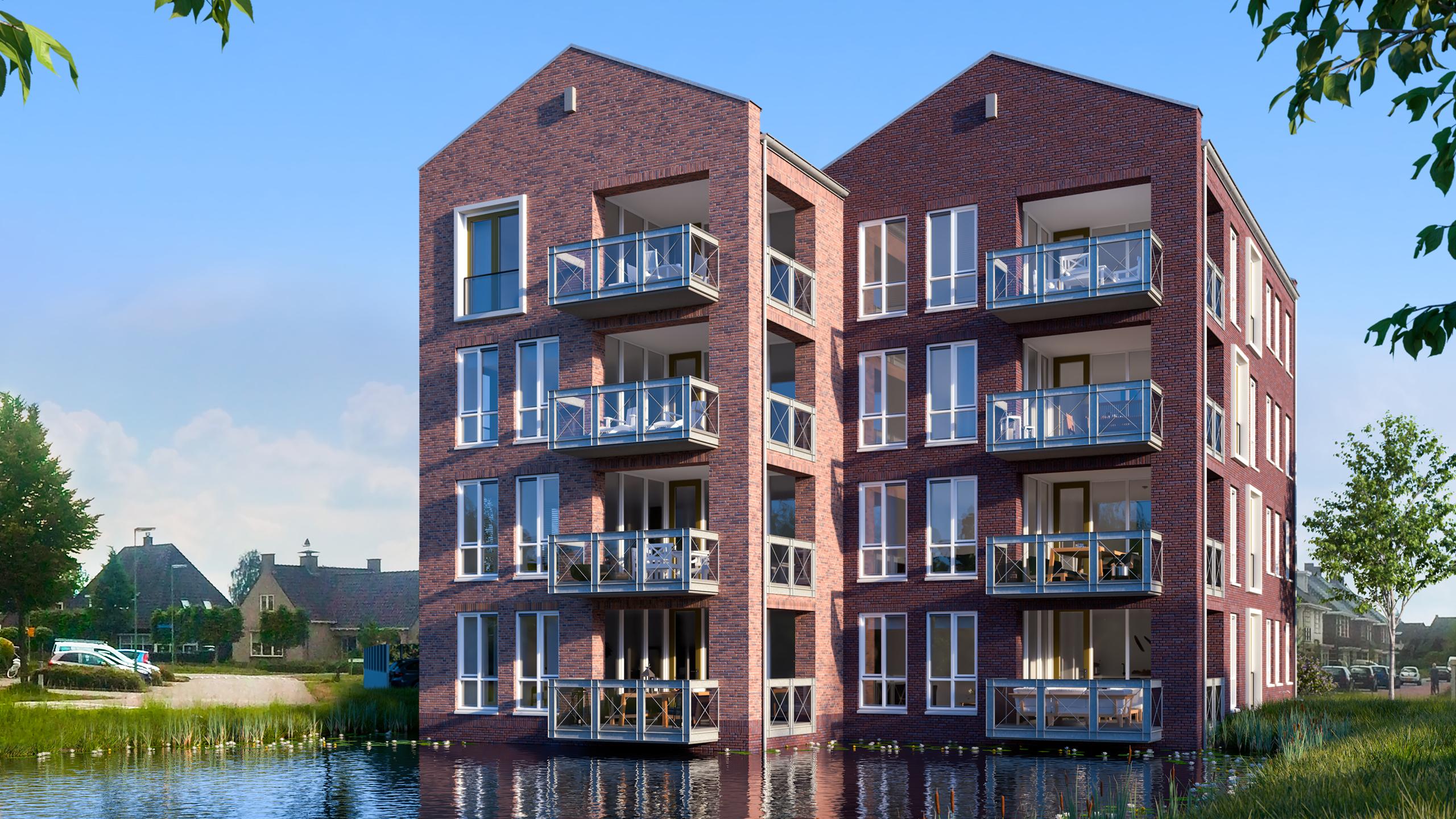 Westerhei, appartementen, Weusten Liedenbaum Architecten