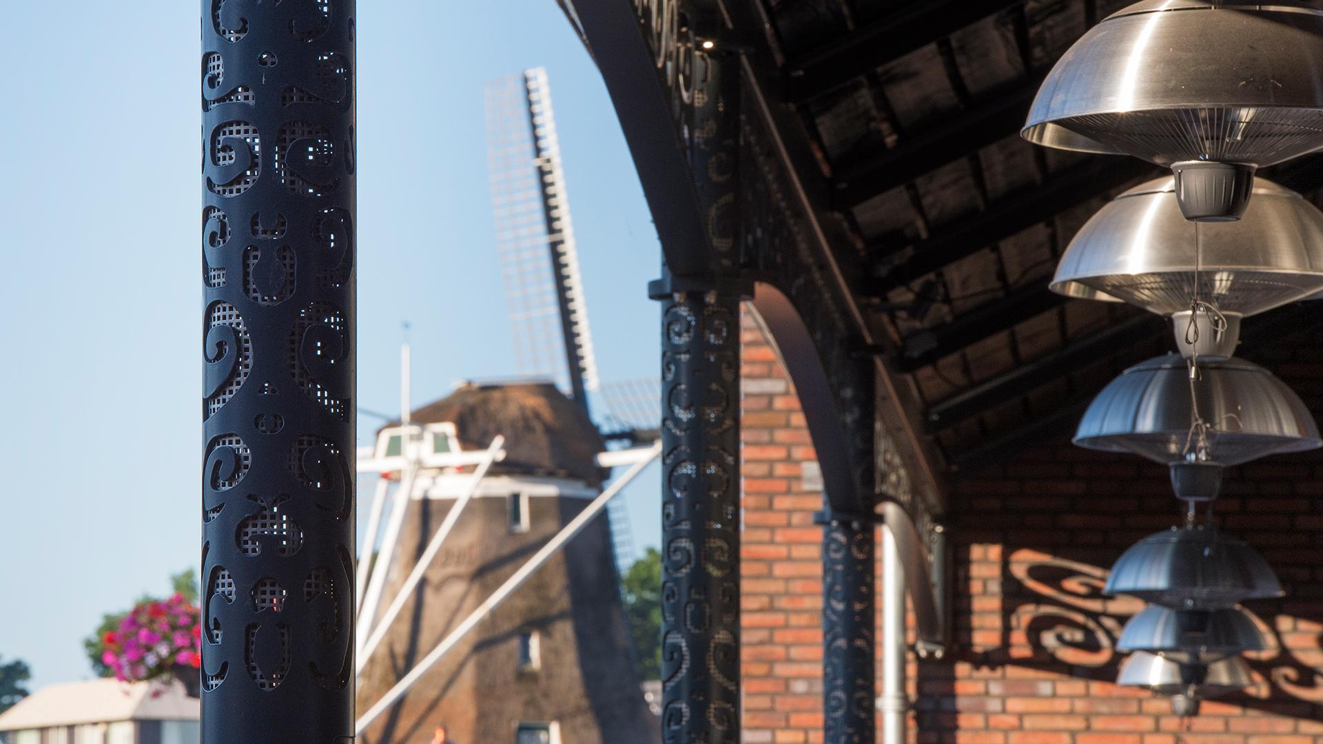 Marktgebouw Ommen Detail Weusten Liedenbaum Architecten
