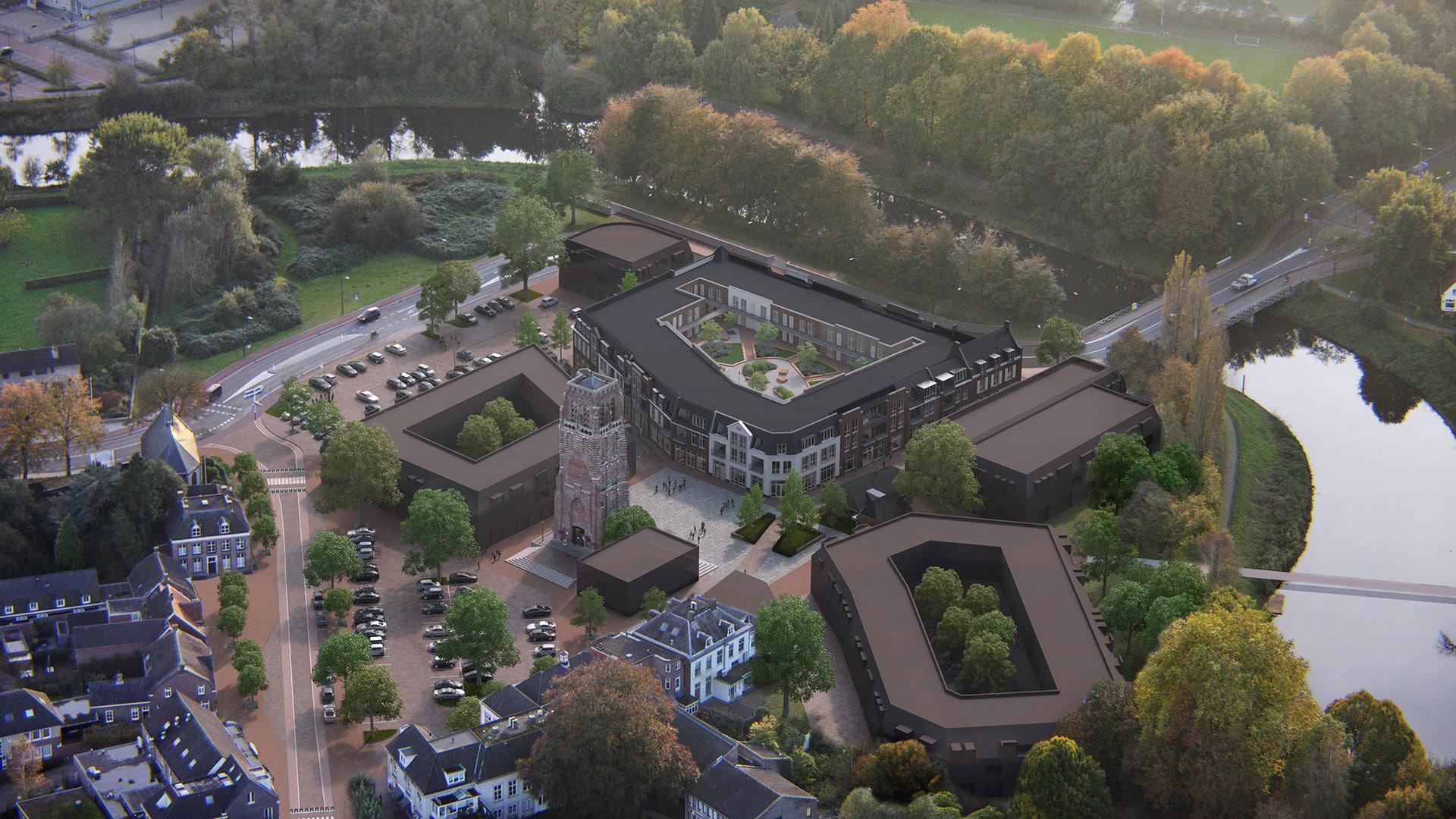 Nieuwe situatie centrumplan Sint-Michielsgestel