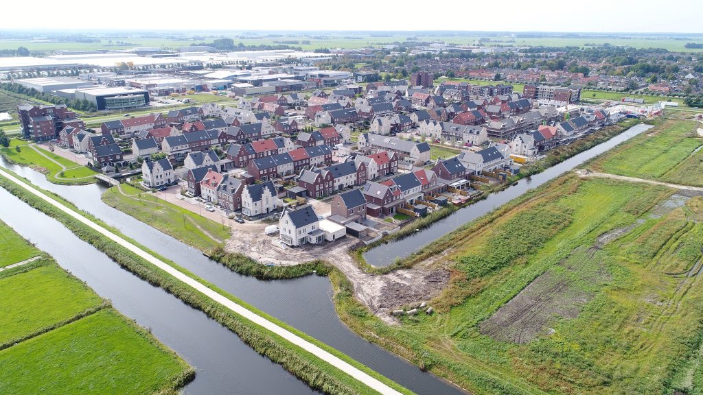 Rengerswetering: realisatie 659 woningen in Bunschoten