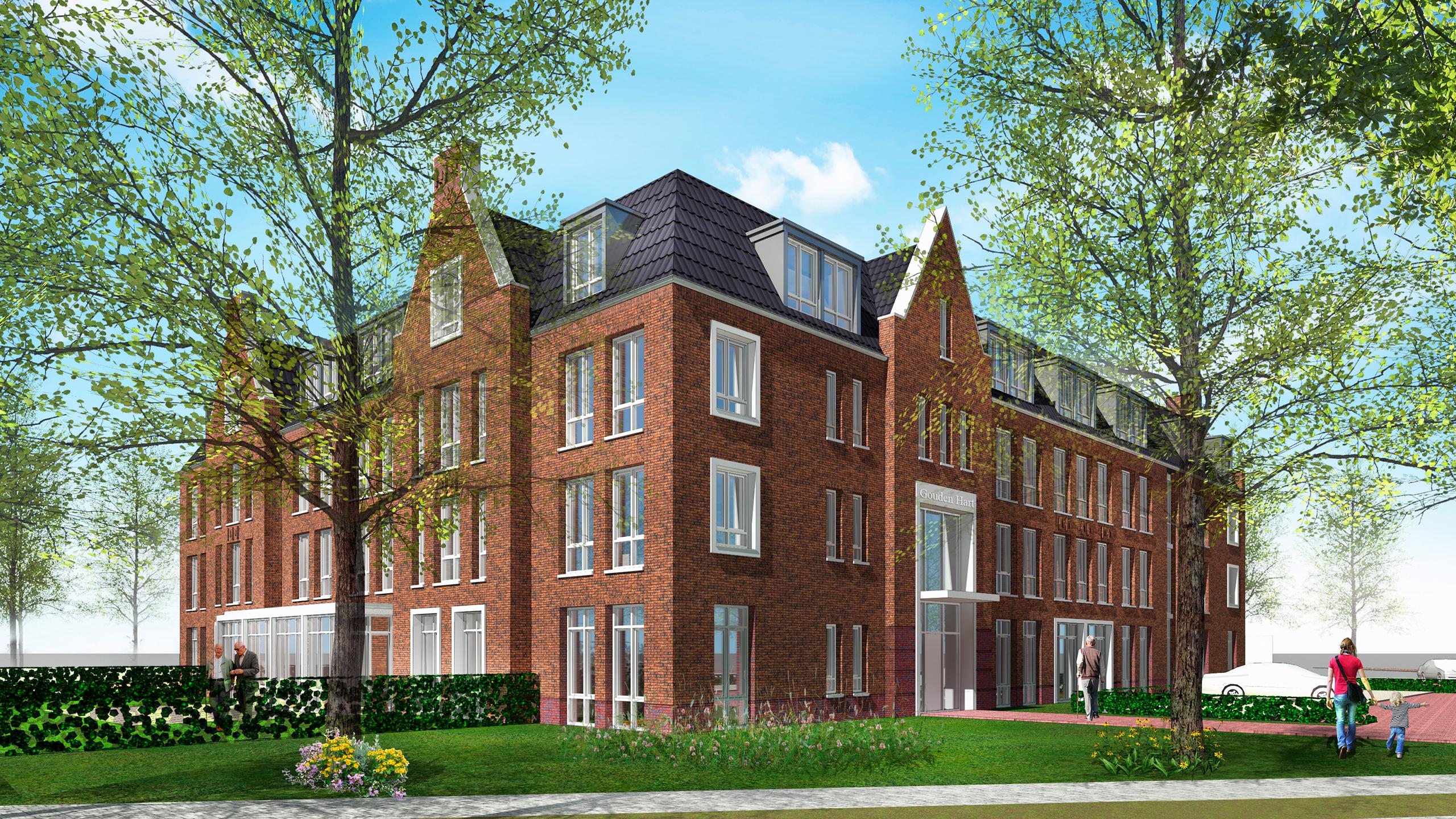Impressie Zorggebouw Veldkamp, Harderwijk_Weusten Liedenbaum Architecten