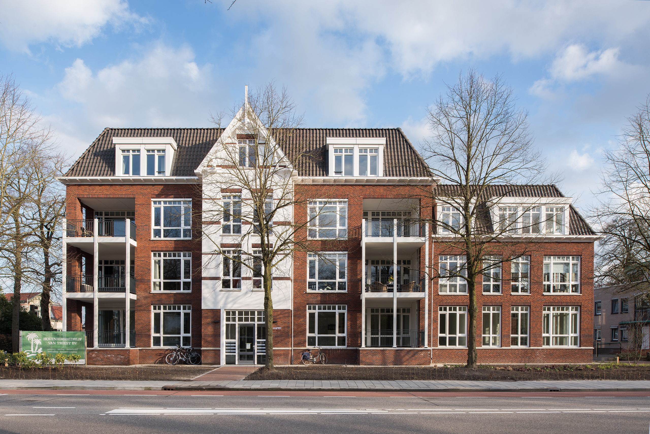 nieuwbouw van appartementengebouwen Florin in Epe