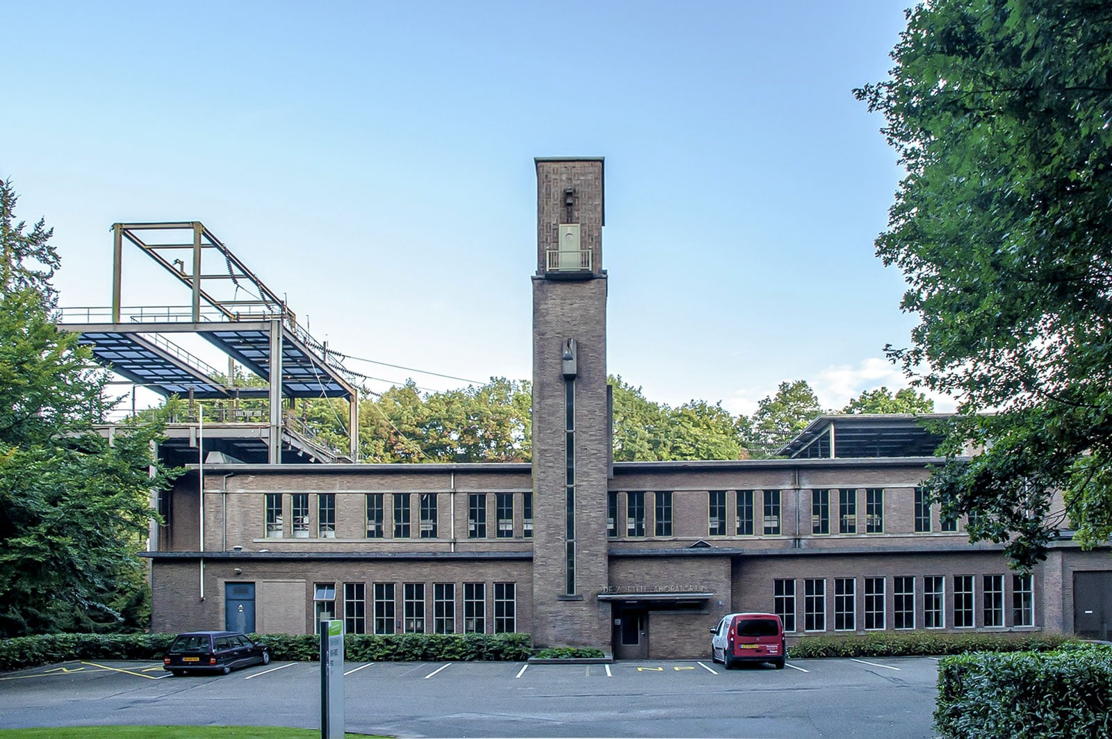 Visualiseren herbestemming monumentaal 'Zoetenlaboratorium'