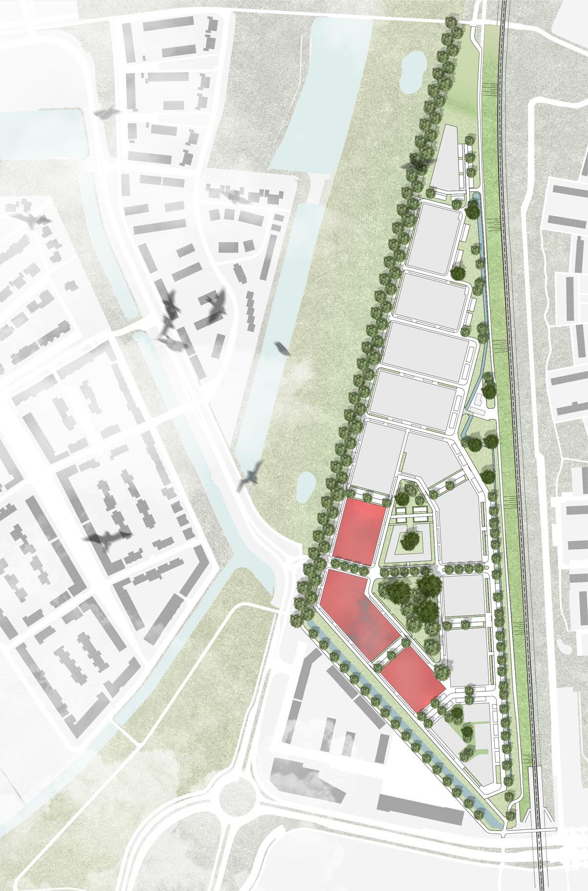 Situatie_Zuid-op-groen-Schuytgraaf_Weusten-Liedenbaum-Architecten