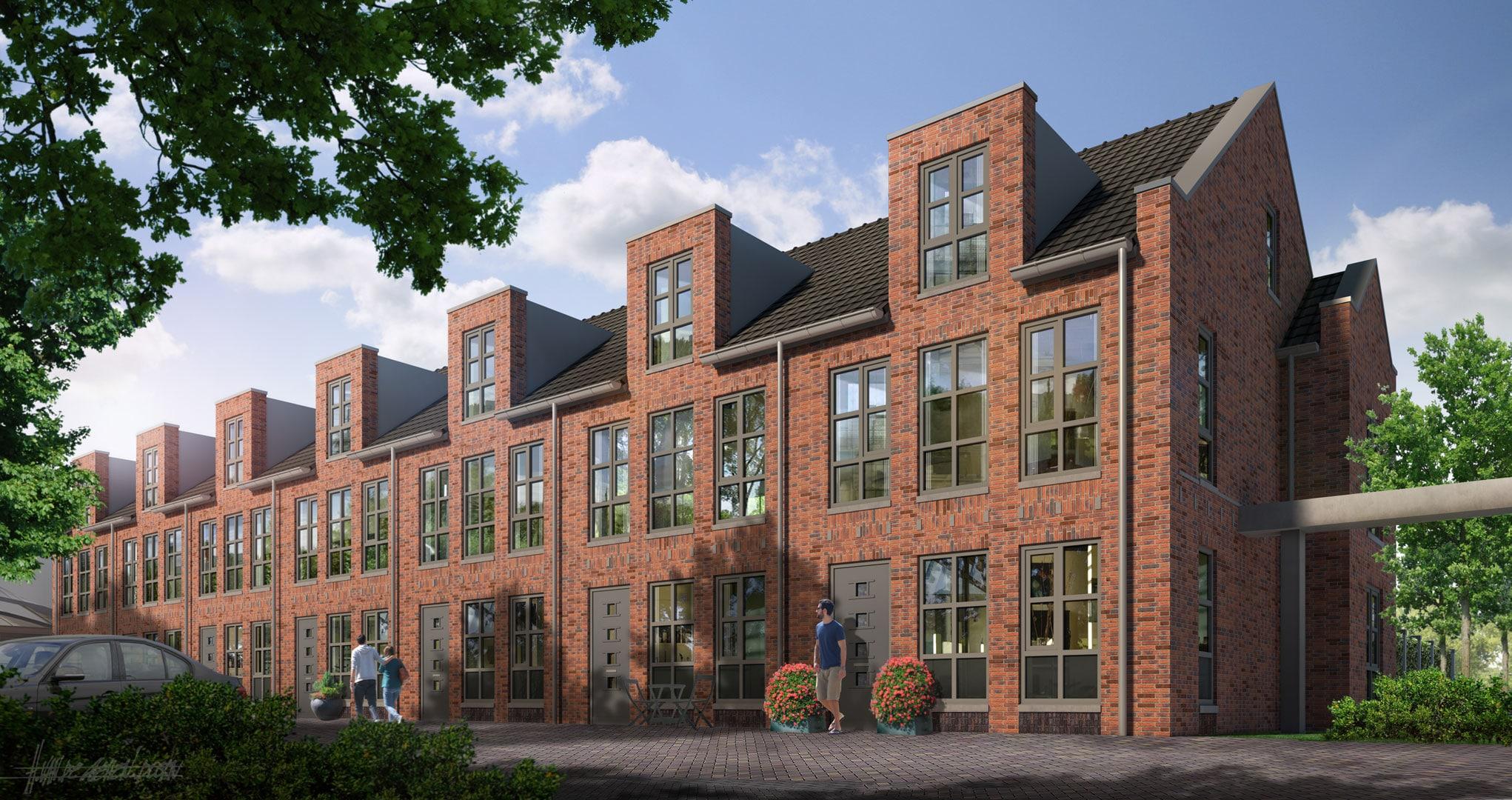 Industriele-woningen-Metaalwarenfabriek-Record-Velp---Weusten-Liedenbaum-Architecten